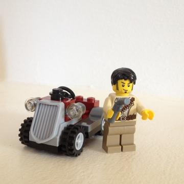Lego Jack Raines Desert Rover