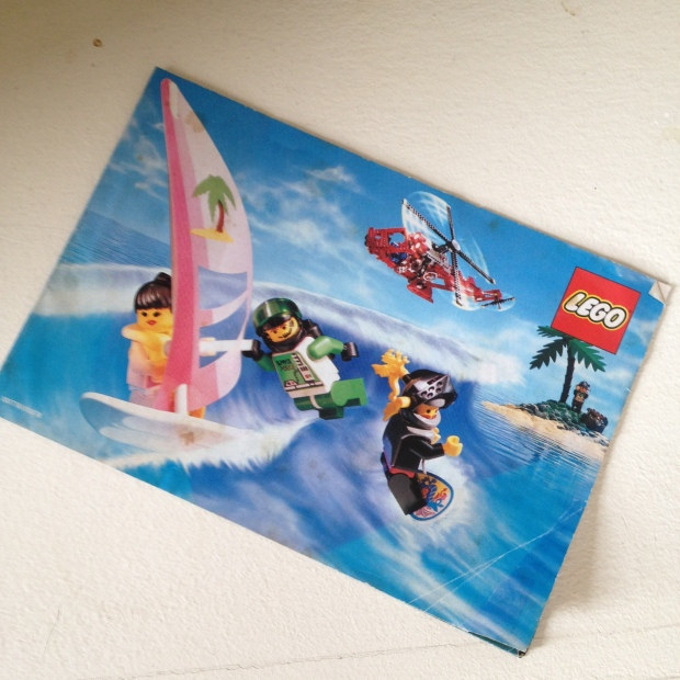 Cover of Lego Catalogue from 1992