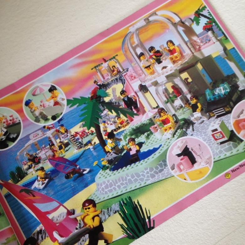 Lego Paradisa Palm Villa