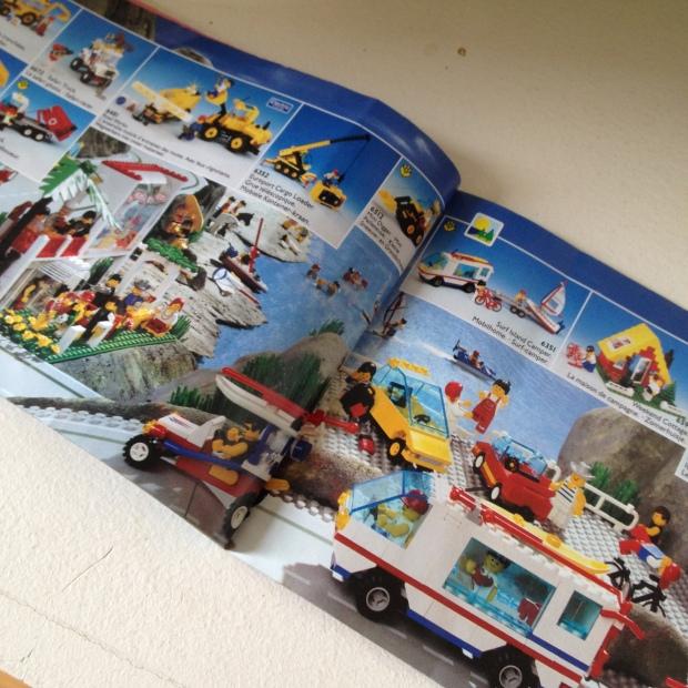 Lego Town Range 1992