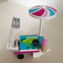 Lego Friends Magazine Ice Cream Cart