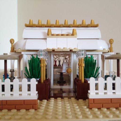 Lego Orangery MOC Front Detail