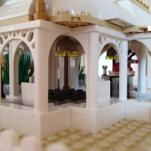 Lego Orangery MOC Side Detail
