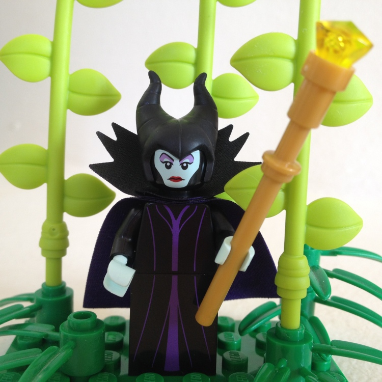 Image of Maleficent Lego Minifigure