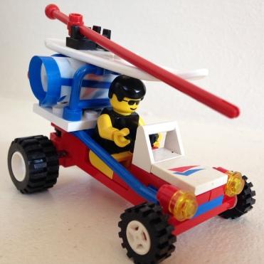 Lego 6534 Beach Bandit Lego Windsurfer & Beach Buggy