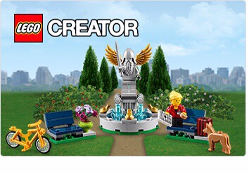 Lego Fountain Promo