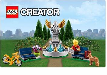 Lego 40221 Fountain Promo Set