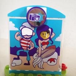 Lego Friends Hotdog Truck Photobooth