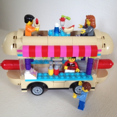 Lego Friends Hotdog Truck 8
