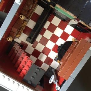 Lego SoHo Building MOC Interior