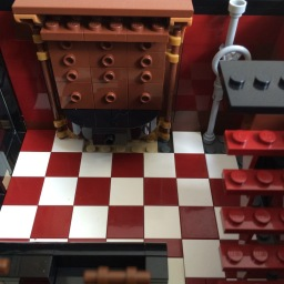 Lego SoHo Building MOC Interior