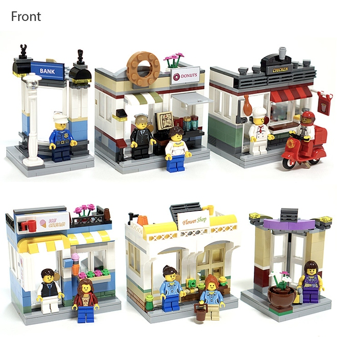Lego Ideas Shopping Streets