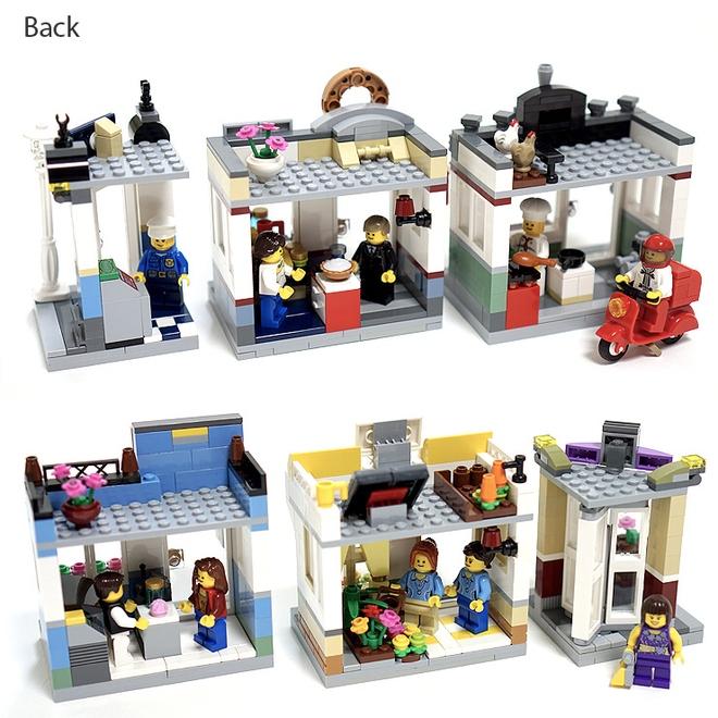 Lego Ideas Shopping Streets