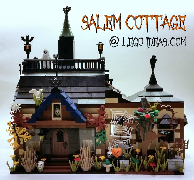 lego ideas salems cottage