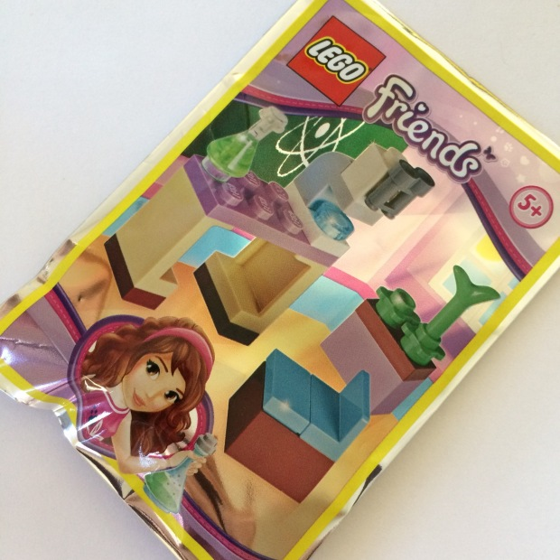 lego friends magazine free gift