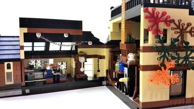 lego ideas salem cottage