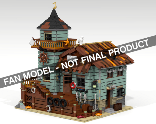 the old fishing store lego