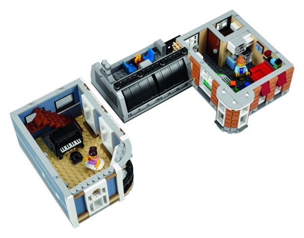 Lego Assembly Square Modular