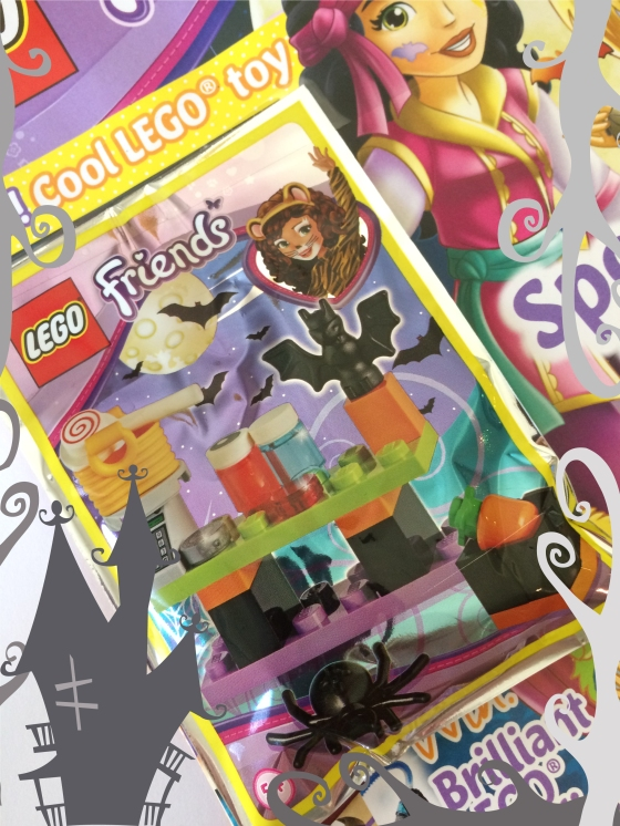 Lego Friends Magazine Halloween Cover