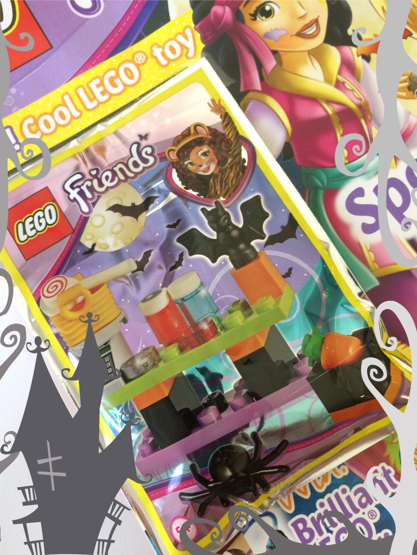 Lego Friends Magazine Halloween Cover