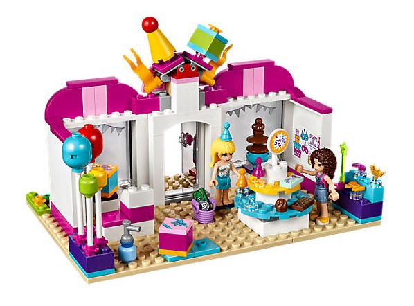 Lego Friends Party Shop