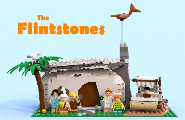 The Flintstones Lego ideas