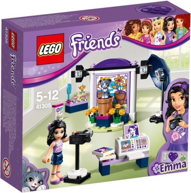 Lego Friends Emma's Photography Studio