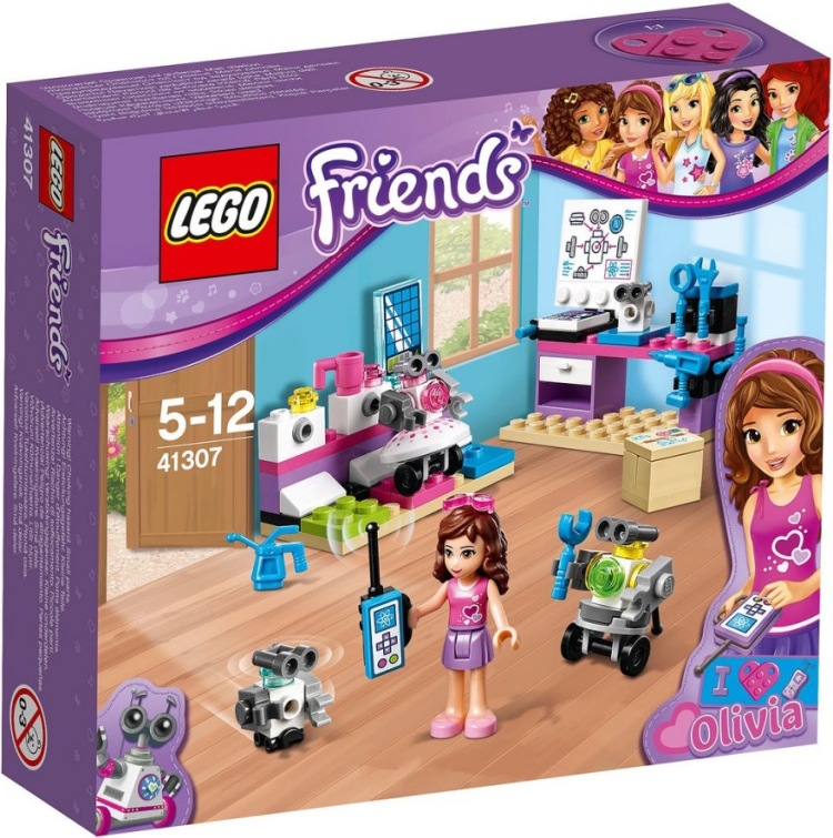 Lego Friends Olivia's Inventor Lab