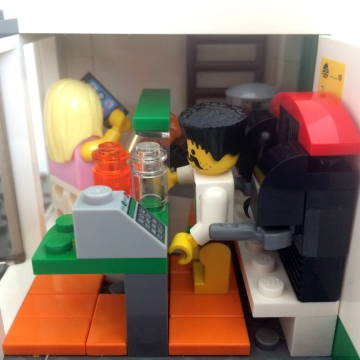 Lego Paradise Cafe