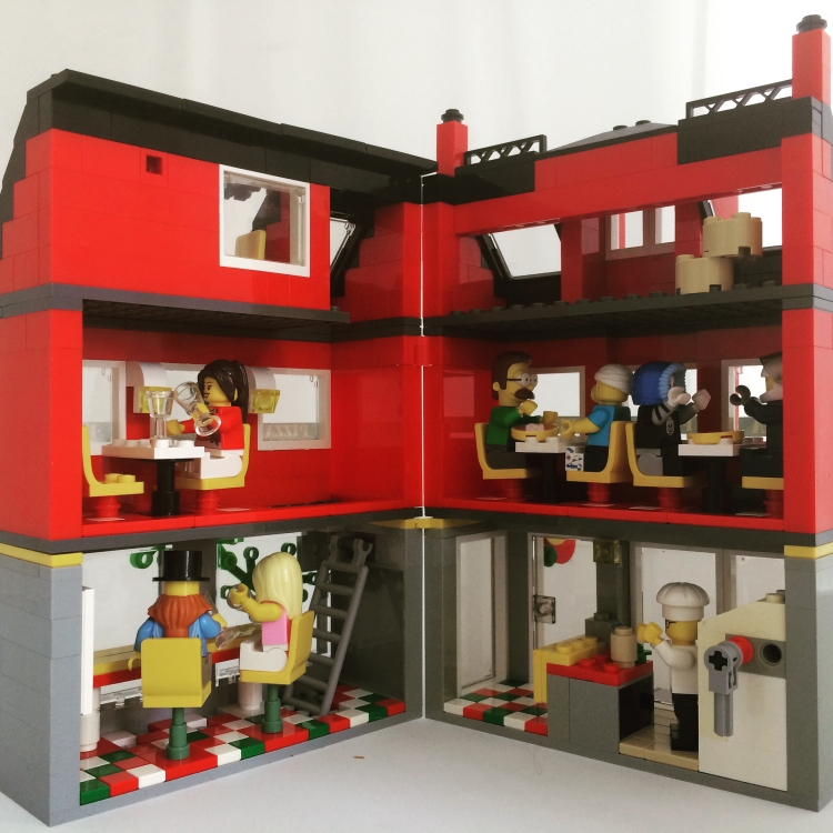 Lego Pizzeria Lego Pizza Shop