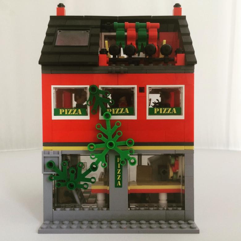 Lego Pizzeria