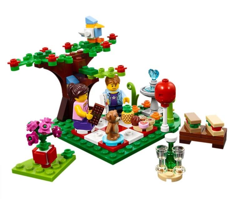 Lego 40236 Romantic Valentine Picnic