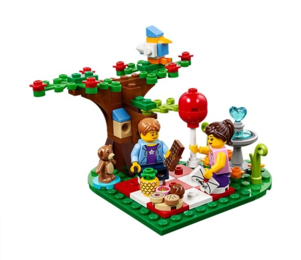 40236 Lego Romantic Valentine Picnic
