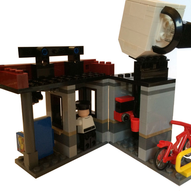 Lego Gotham City Energy Facility