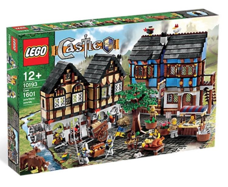 Lego Medieval Market Village