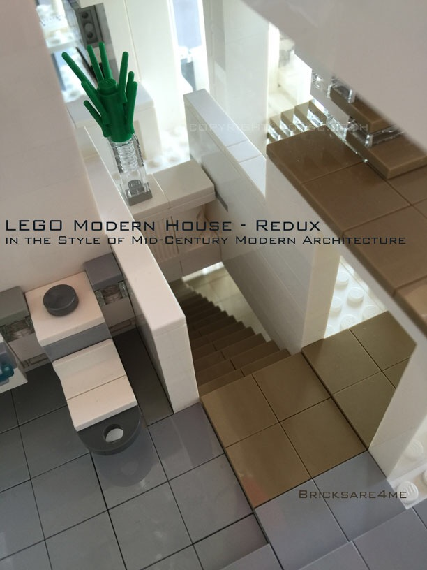 Lego Modern House bricksare4me