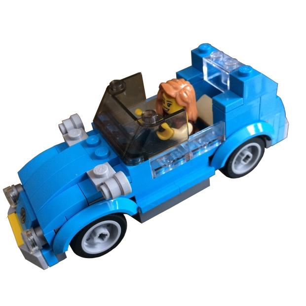 Lego Mini Volkswagen Beetle
