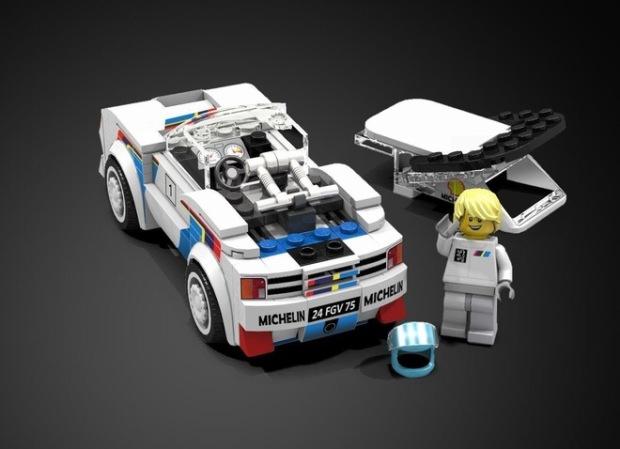 Lego Peugeot 205 Turbo