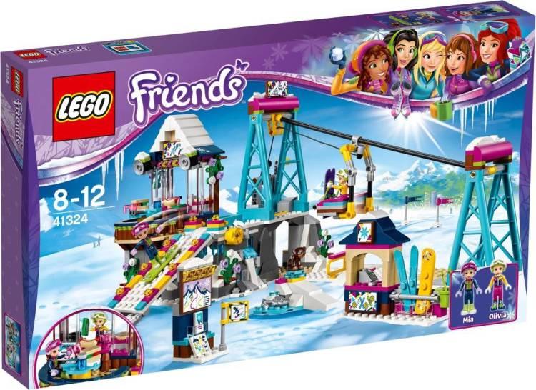 Image of 41324 Lego Friends Snow Resort Ski Lift