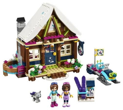 Image of Lego Friends Snow Resort Chalet