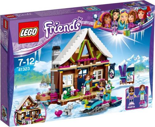 Image of 41323 Lego Friends Snow Resort Chalet