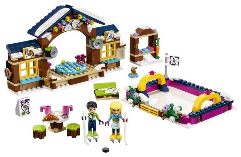 Image of Lego Friends Snow Resort Ice Skating Rink