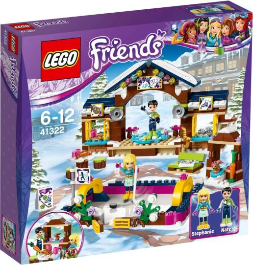 Image of 41322 Lego Friends Snow Resort Ice Skating Rink