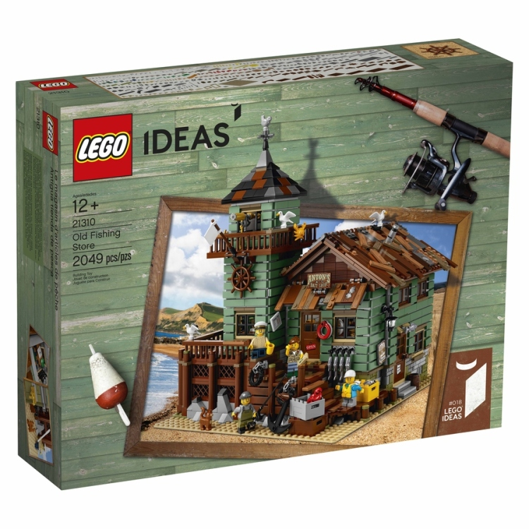 Lego Ideas 21310 Lego Ideas Old Fishing Store Box