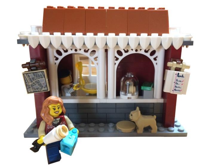 Lego pancake stand
