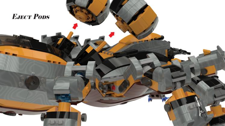 Lego Ideas Mech 4