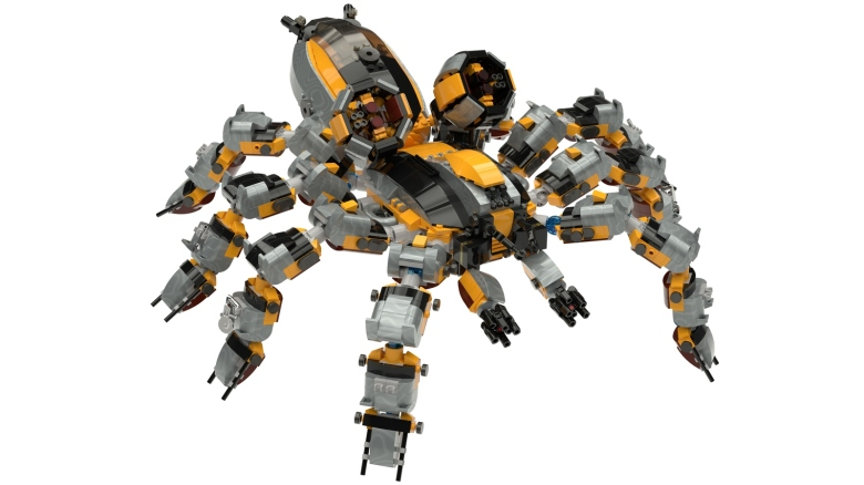 Lego Ideas Tarantula Mech