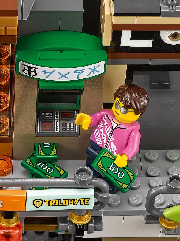 Lego Ninjago City ATM