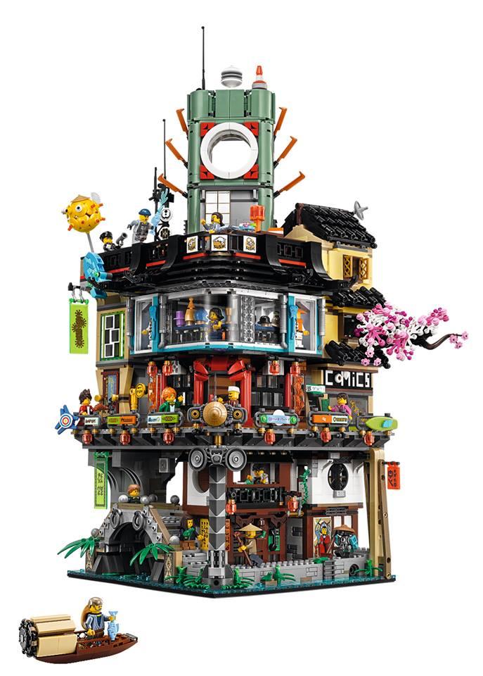 Lego Ninjago City