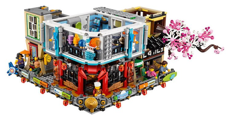Level 2 of Lego Ninjago City